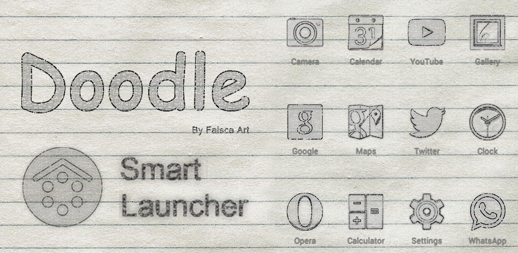 http://faisca-art.blogspot.com.es/2014/08/doodle-smartl-launcher-theme.html