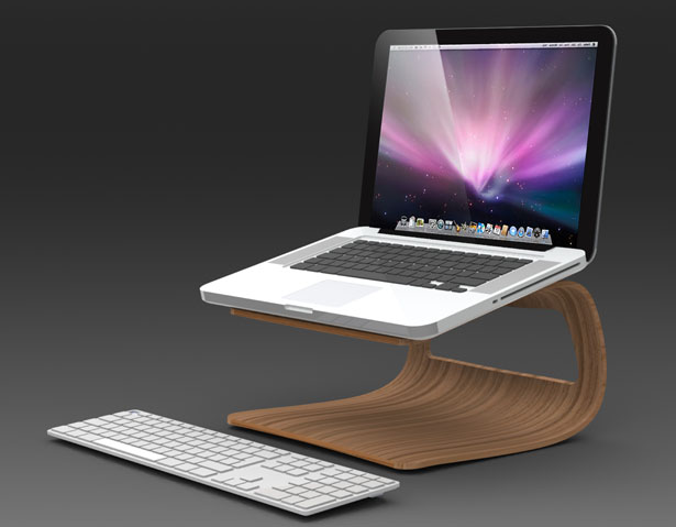Laptop stands prevent overheating
