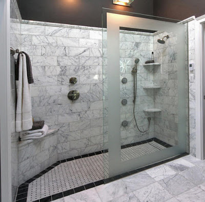 Walk in Shower Design
