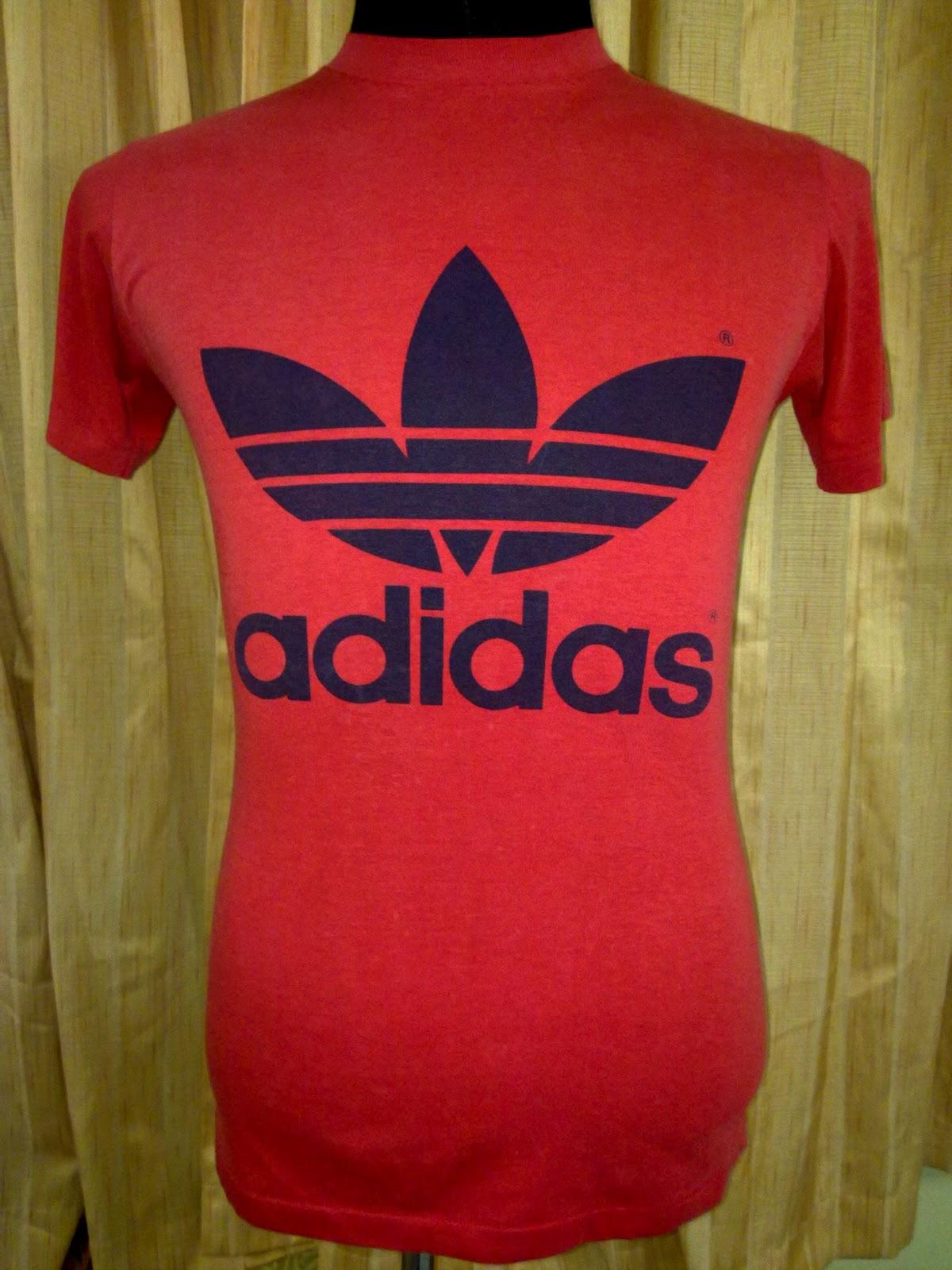 Chakoi bundle vintage adidas trefoil 50 50 t shirt sold for Adidas classic t shirt