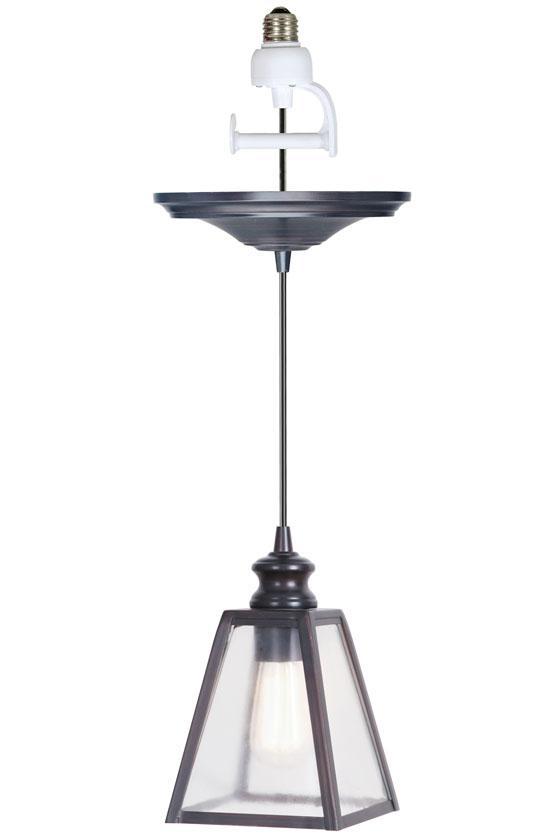 pendant light conversion kit 59 for contemporary clean lines. Black Bedroom Furniture Sets. Home Design Ideas