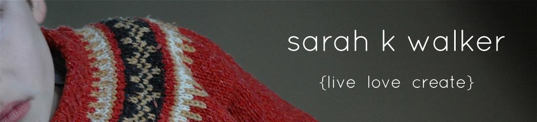 sarah k walker