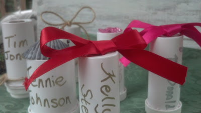 Mint Juleps 'n Muddin' Favor Holders and Place Card in one