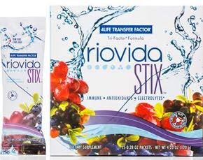 RIOVIDA Concentrado de Frutas STIX (polvo)