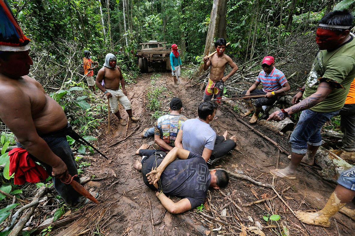 Tribe Warriors Fight Back to Save Amazon