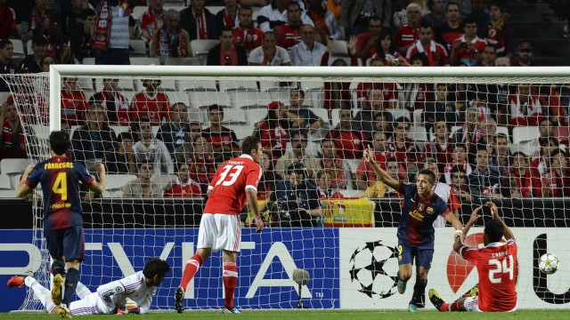 Hasil Barcelona VS Benfica 0-2 |hasil liga champions