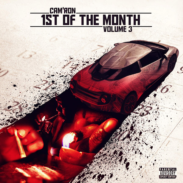 Cam'ron - 1st of the Month, Vol. 3 - EP Cover