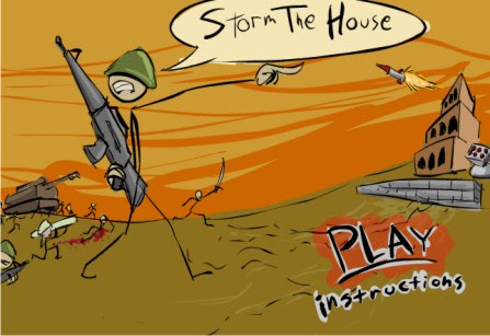 Game Online Storm the house game