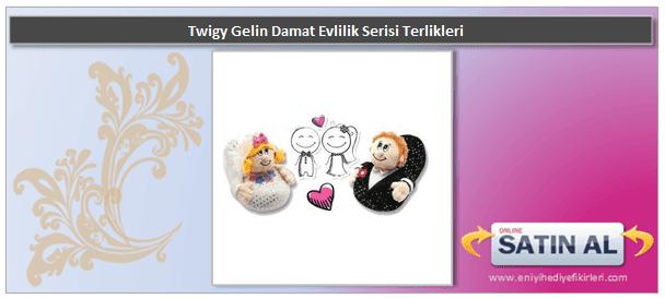 Twigy Gelin Damat Evlilik Serisi Terlikleri