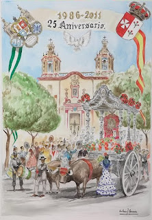 Tocina - Hermandad del Rocío 25 aniversario