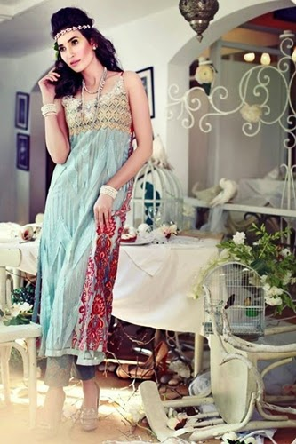 Tena Durrani Bakra Eid Collection 2014