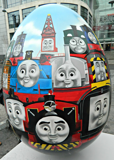 Thomas Tank Engine Friends Egg Big Hunt Manchester
