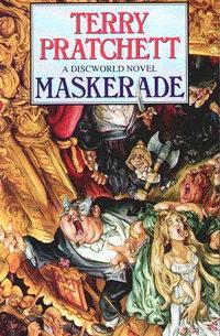 "Cover of ""Maskerade"", Terry Pratchett"