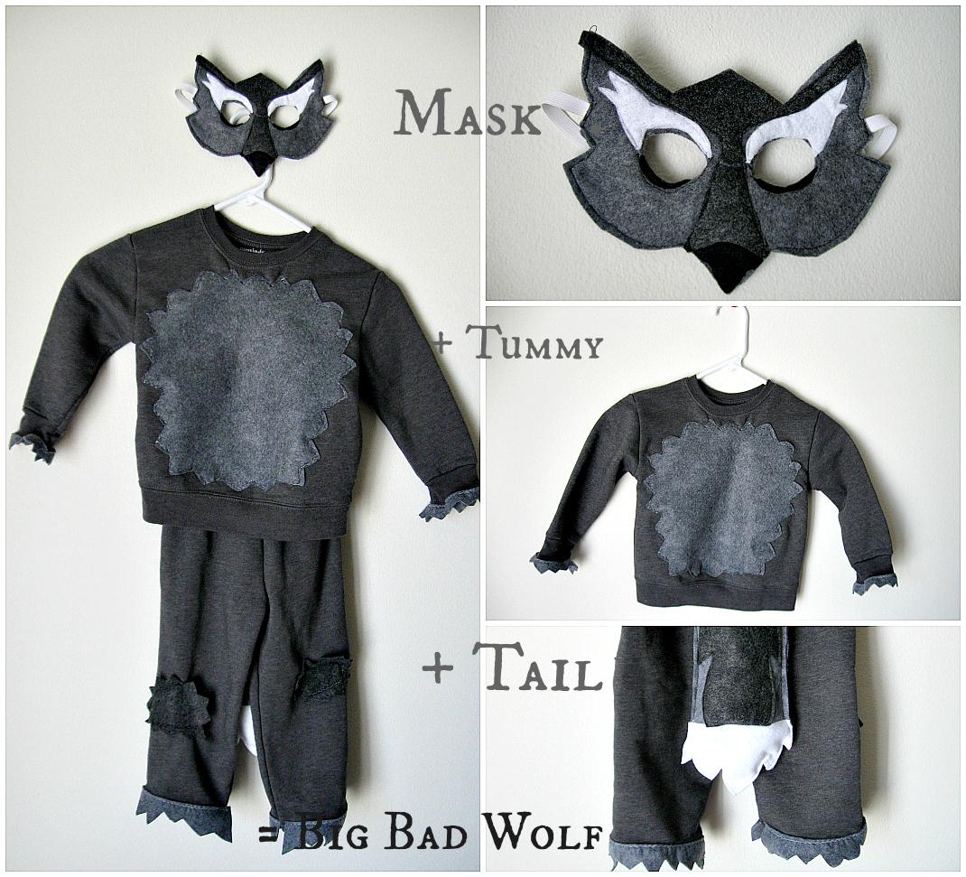 Diy big bad wolf costume - photo#14