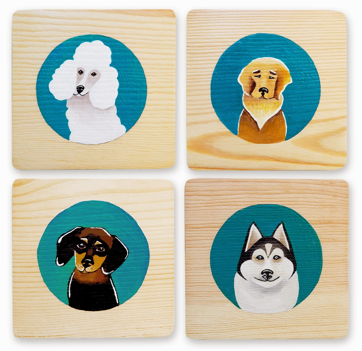 Dog Art Blocks