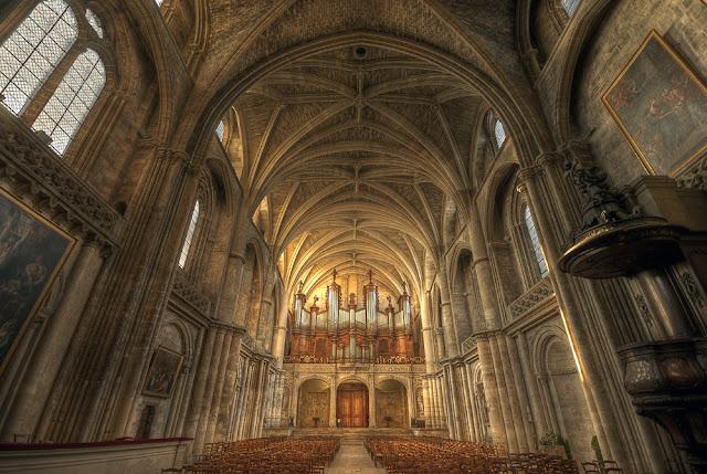 cathédrale de bordeaux, cathédrale saint andré bordeaux, photo hdr église, édifice religieux, messes cathédrale saint andré, photo fabien monteil