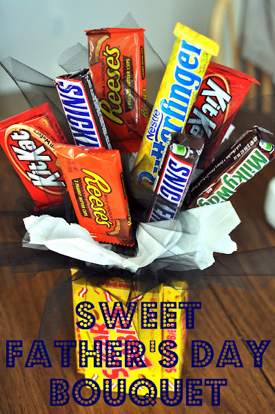 Fathers Day Candy Bouquet