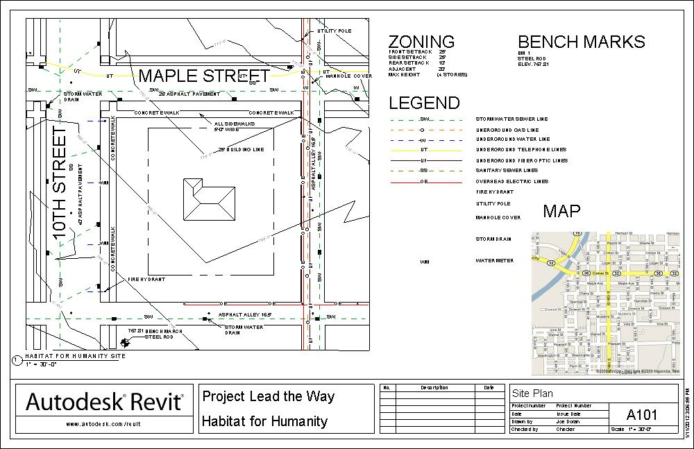 Drawing Property Lines In Revit : Jpdcea affordable house site plan