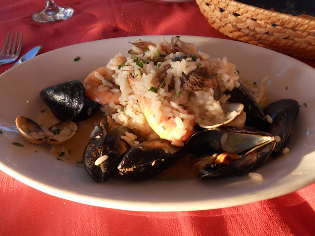 Dinner in Cinque Terre