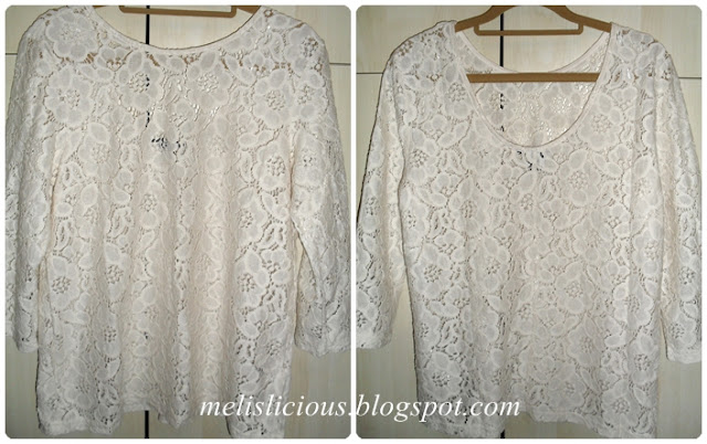 hm lace blouse