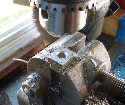 drilling holes in t nuts