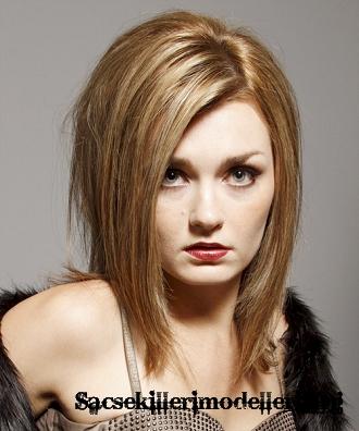 2012 omuz hizasında saç modelleri orta uzunlukta saç kesimleri