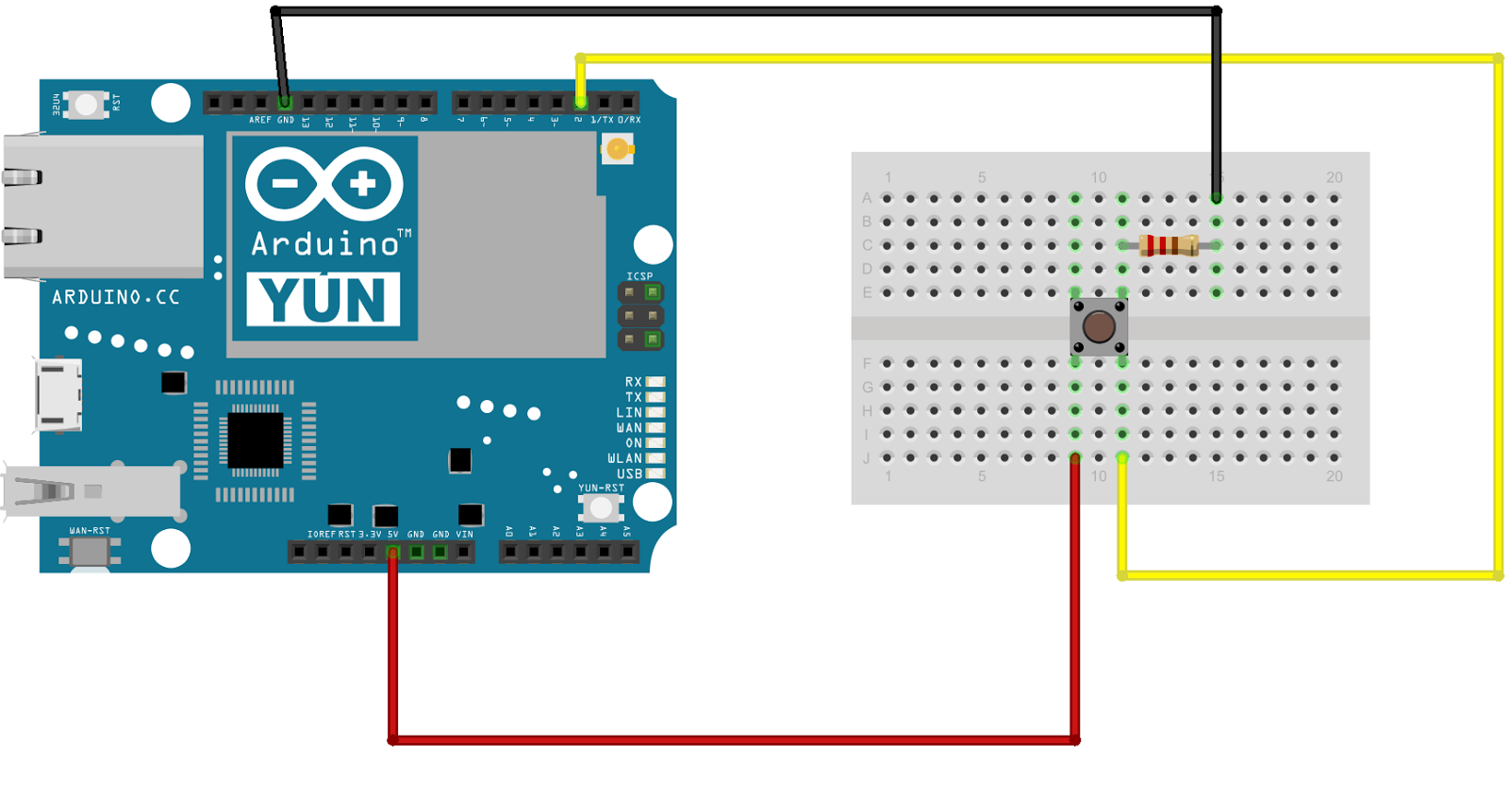 Binarypower use arduino yun to send emails simple