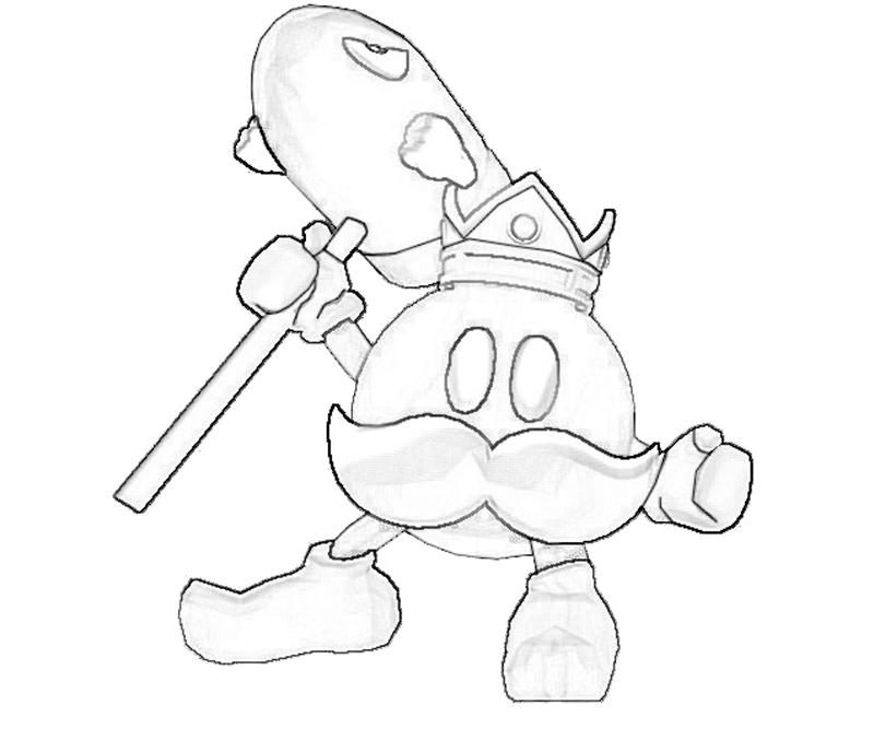 king-bob-omb-weapon-coloring-pages