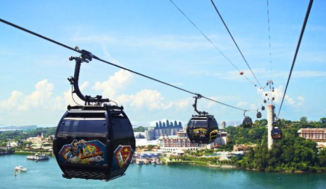 Tempat Wisata Terbaik di Singapura - Kereta Gantung Singapore