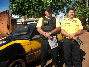 Agentes do SMT sempre atentos 24 horas  no transito de Águas Lindas.