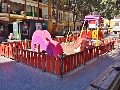 Juegos infantiles en Sevilla