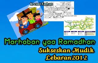 perjalanan mudik lebaran, jalan yang dilalui, ramadhan,