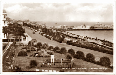 West Cliff and Pier Clacton-on-Sea