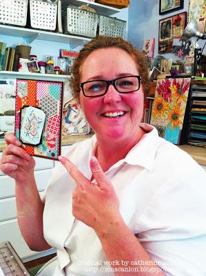Laurel Pollard from NE Paper Crafts by Catherine Scanlon
