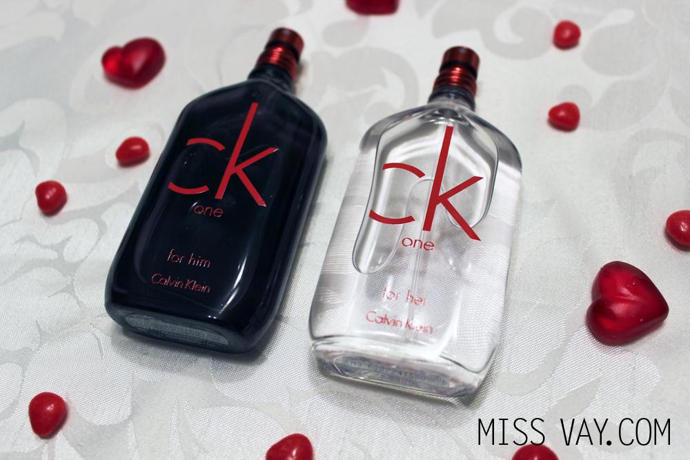 Idées cadeaux pour la Saint-Valentin Calvin Klein CK One Red Edition For Him For Her