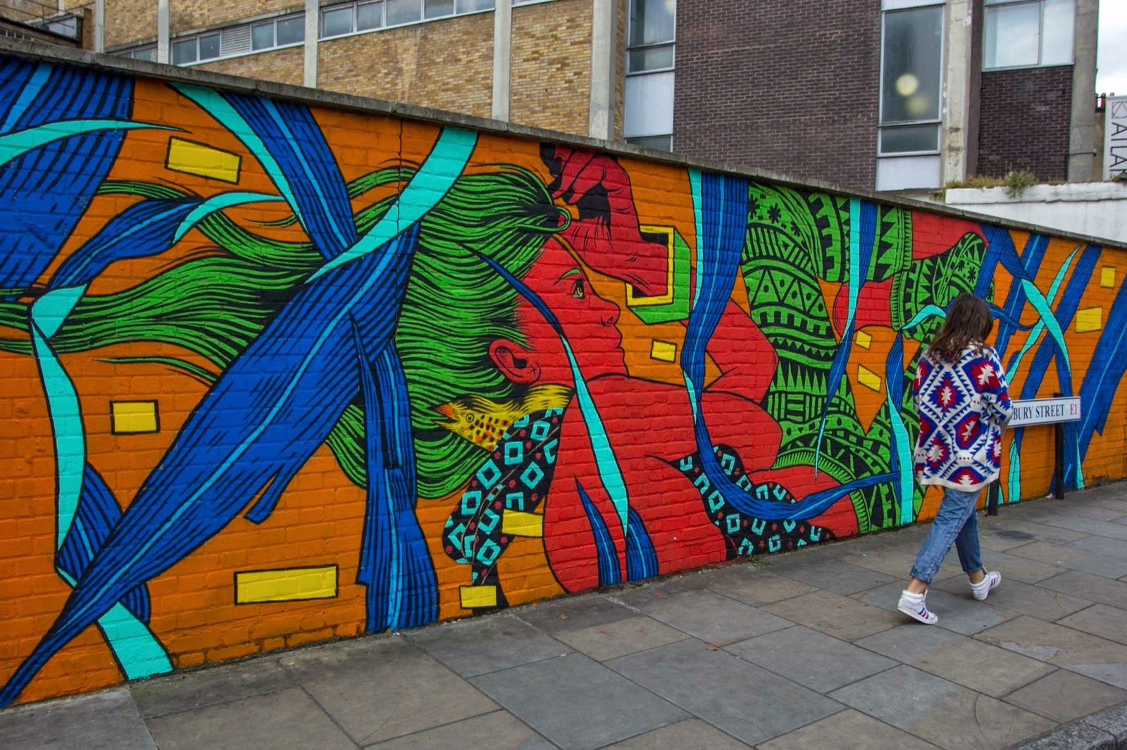 The JustKids collective landed in London, UK where they took over Brick Lane with some of their artists.