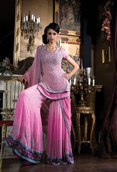 weeding sharara designs trendy fashionable dresses