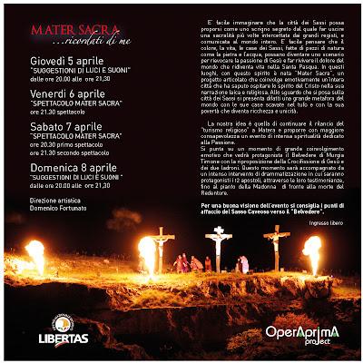 evento di pasqua a Matera