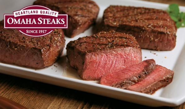 OMAHA STEAKS - BURGERS -AND ?