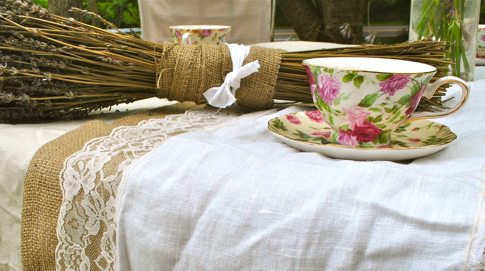 Country Chic Home Decor Shabby Chic Tea Party