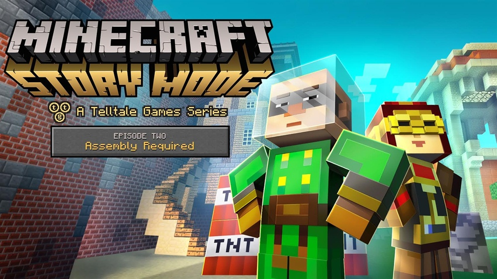 Minecraft Story Mode Download Episode 2 Poster