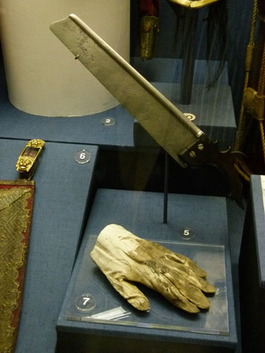 Earl of Uxbridge, Waterloo, National Army Museum, Uxbridge amputation, British soldiers