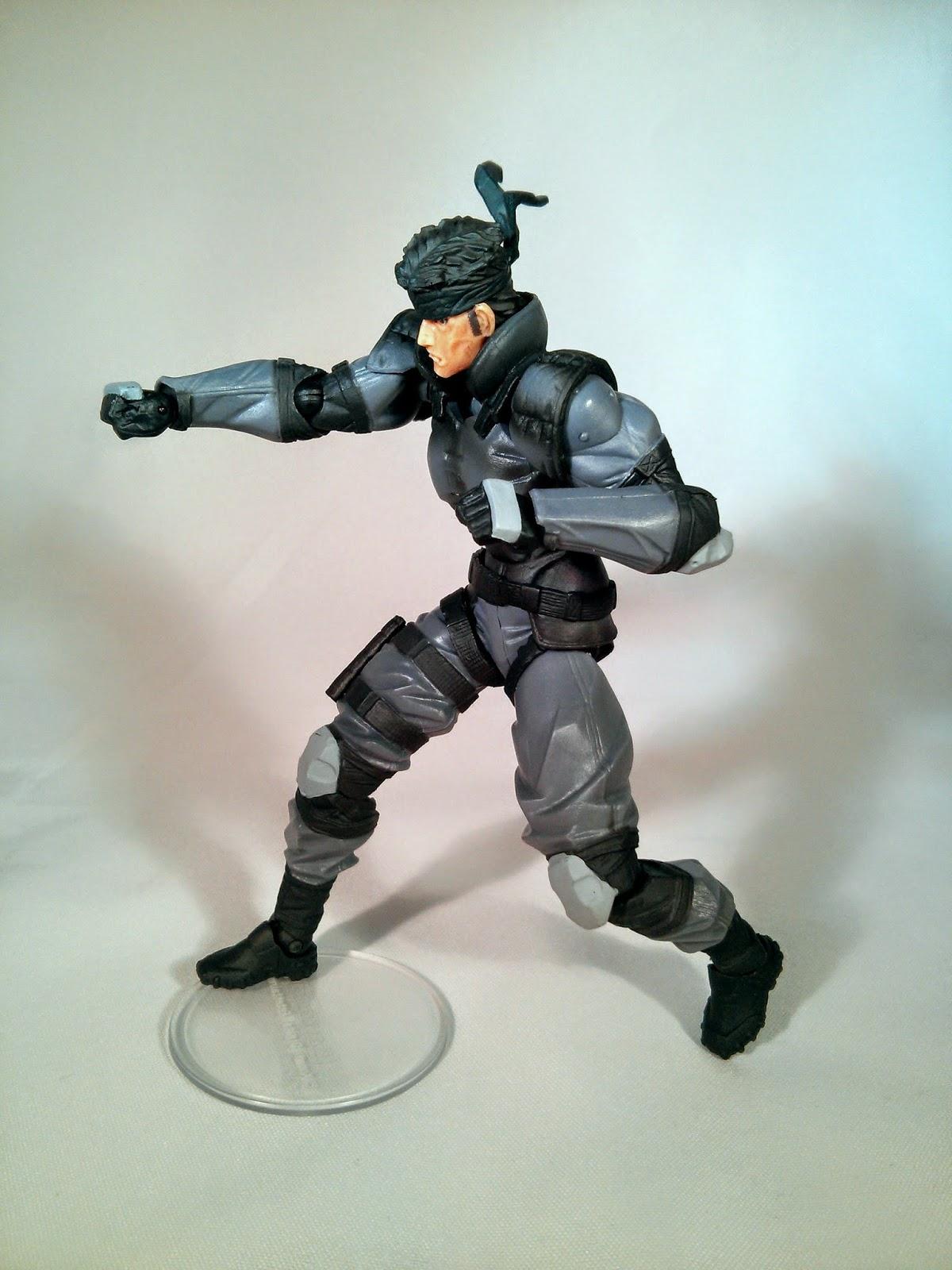 Revoltech Solid Snake articulation
