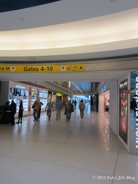 JFK Terminal 1 airside
