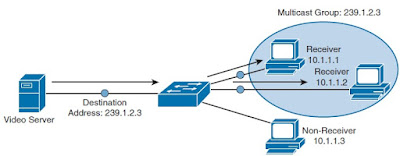 networking - Receive specific multicast message on a ...