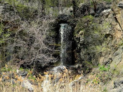 Waterfall Morningside Park New York City Clip Art