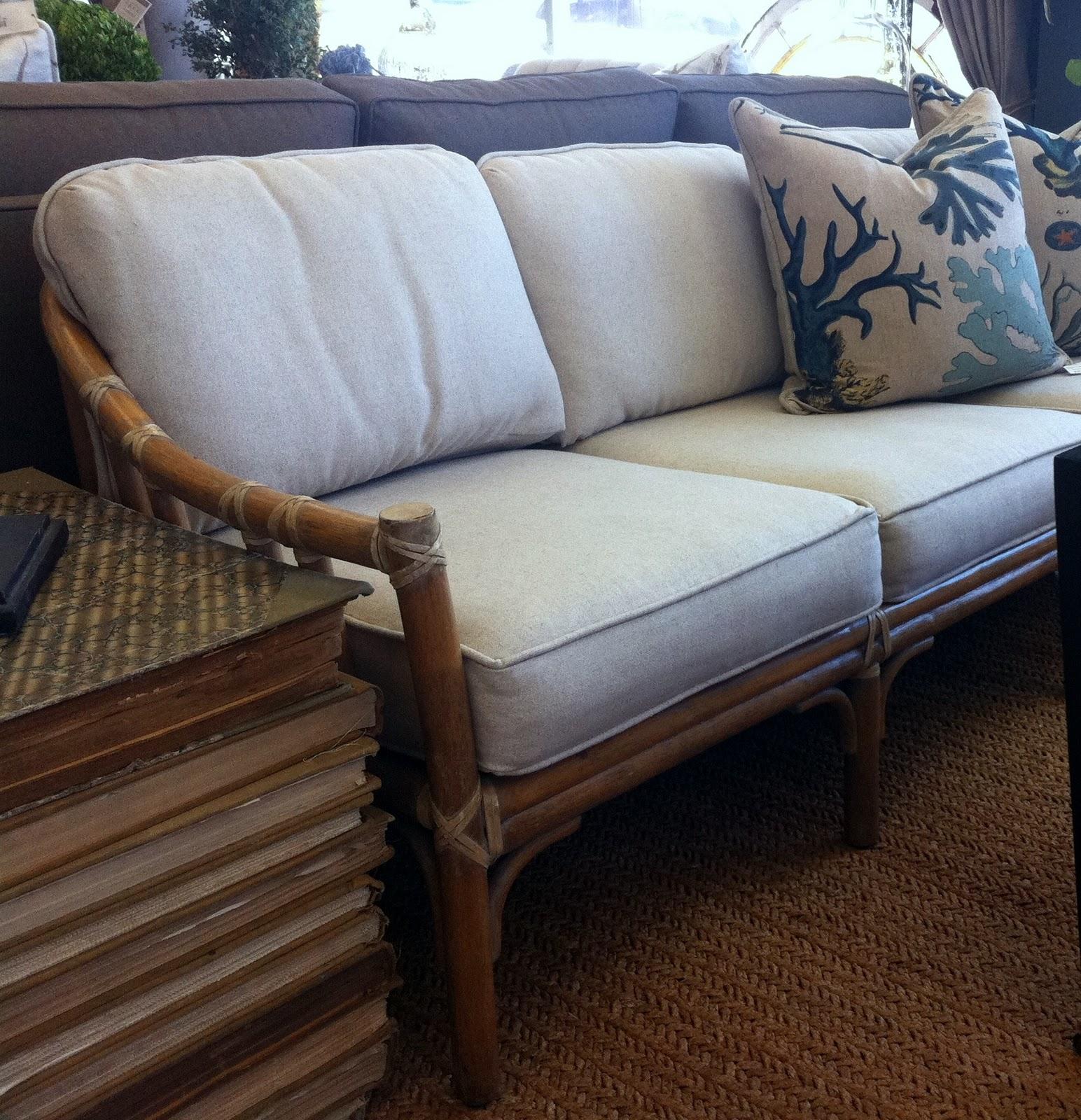 Merveilleux Vintage McGuire Sofa Original Price $1200 Sale Price $960