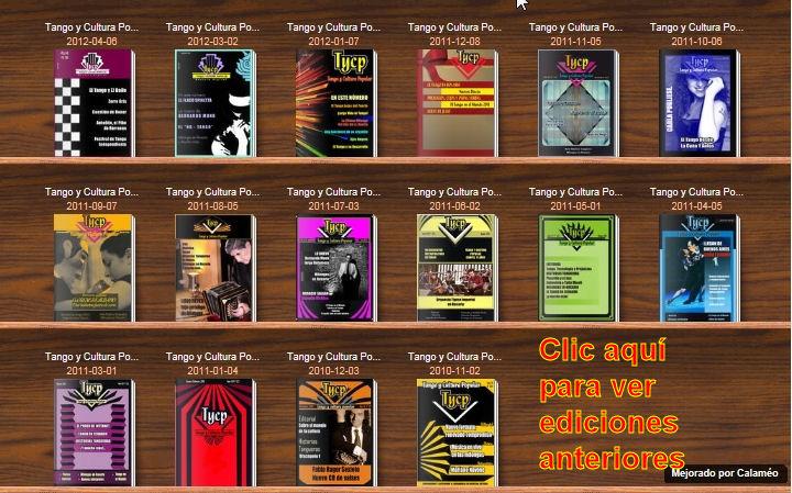 CLIC PARA VER NÚMEROS YA PUBLICADOS EN CALAMEO