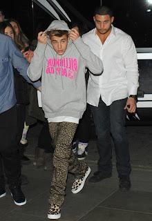 Ciaran Dunne Fashion Justin Bieber
