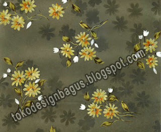 Design-Textile-Motif-Bunga-Background-Gradasi